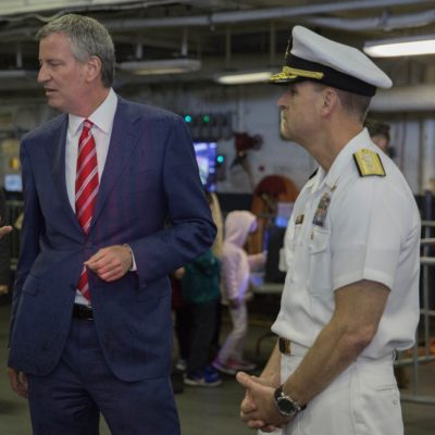 NYC Mayor Demands Military Fix His Failings