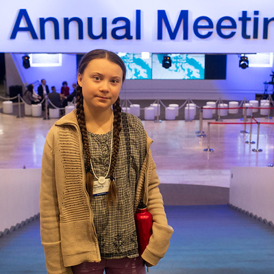 Of Course She Does: Greta Thunberg Lectures the EU
