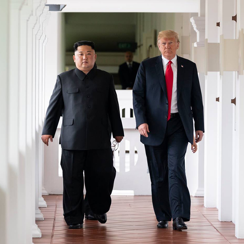 Trump on Kim Jong-un Health Mystery: I Know How He's Doing