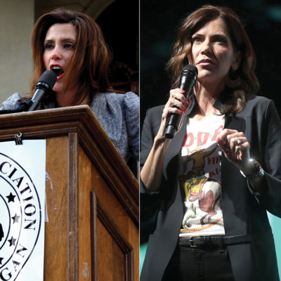 Governors and Coronavirus: Whitmer Versus Noem