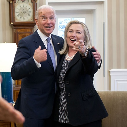 Hillary Endorses Biden With So Much Energy