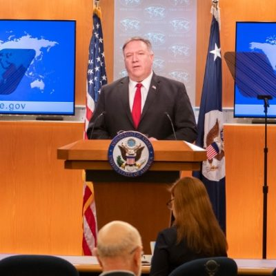 Pompeo Points Finger Directly At China For COVID-19