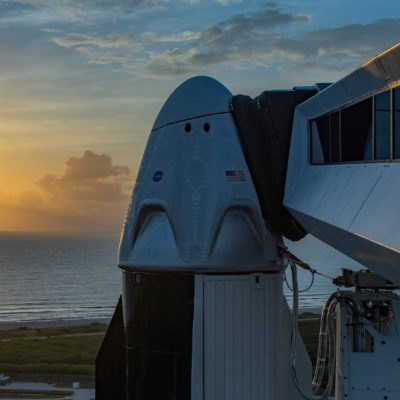 SpaceX Takes Off For The Final Frontier