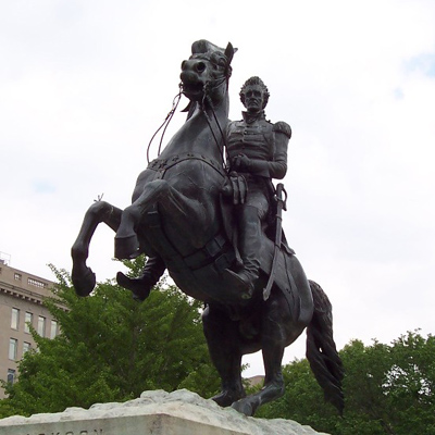 Jackson Statue: Men Charged with Federal Crime