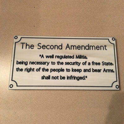 Good News: The Second Amendment Is Alive