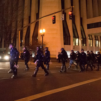 Federal Officers in Portland Don't Have Riot Training