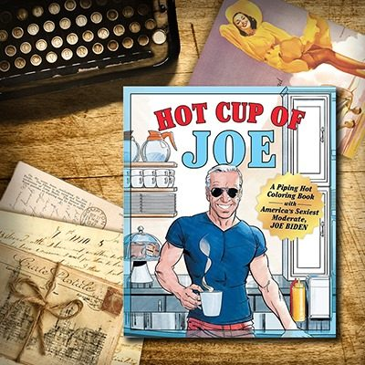 """""""Hot Cup Of Joe"""" Adult Coloring Book Is Offensive"""