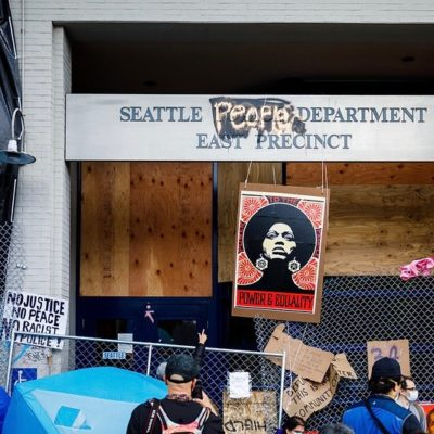 Violence Is Not The Answer in PDX and Seattle