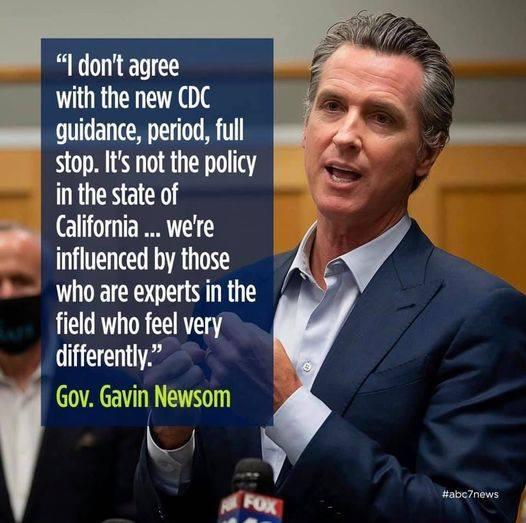 King Gavin Newsom quote