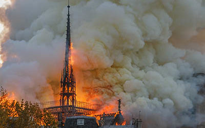 Notre Dame on fire - Gerson attacks Christians