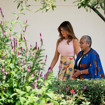 Rose Garden Gets Melania Makeover, Twitter Howls