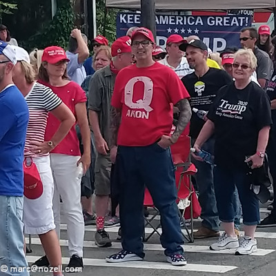 QAnon Fundraiser Hosts Get Dumped by Pence