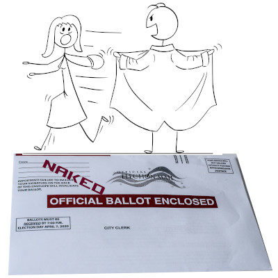 PA Lawmakers Bare It All For Naked Ballots