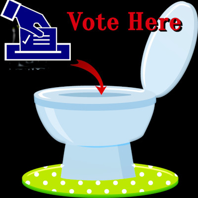 Michigan Mail-In Ballots Swirling Down The Toilet
