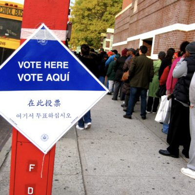 Record Turnout and Lines Isn't Voter Suppression