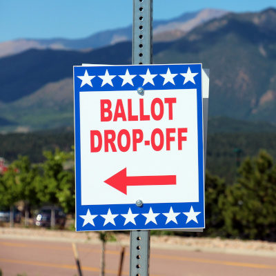 Mail-In ballot drop off