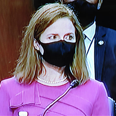 Muzzled Amy Coney Barrett Is A Judicial Torpedo