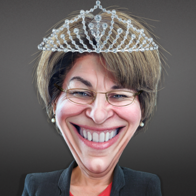 Queen Amy Klobuchar And Maizie The Fool