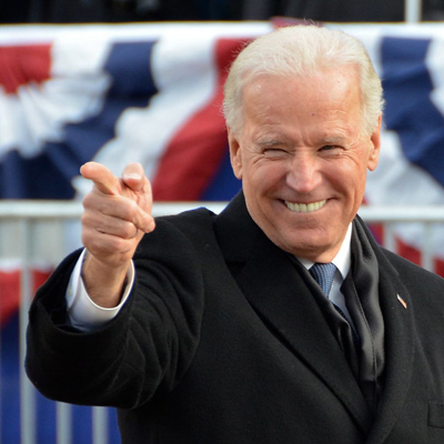 Biden Says His Opponent is George