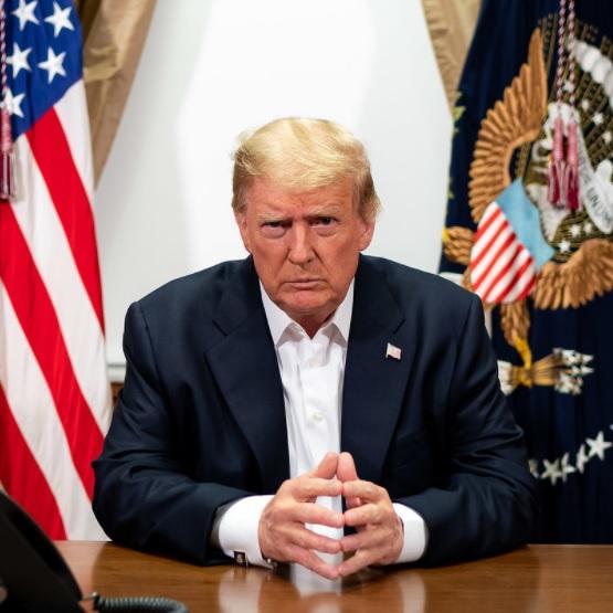 Trump Leaves Walter Reed, Media Cries