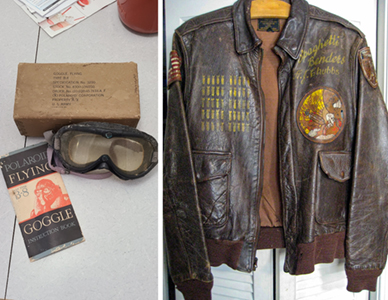 jacket & goggles