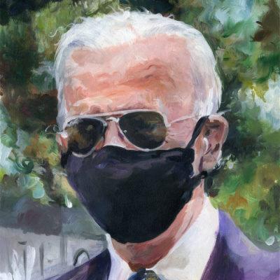 Megaphone and Mask For Scranton Joe Biden