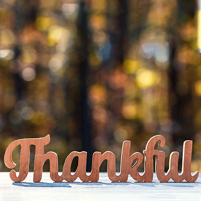Thanksgiving: Feel Free to Double-Dip on Gratitude
