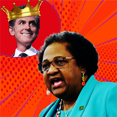 Gavin Newsom Picks Open Racist Shirley Weber for Sec of State