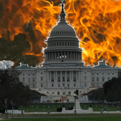 Day Five Of Impeachment 2.0 Begins With Fire