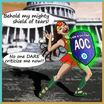 The Toxic Tears of AOC's Femininity UPDATED