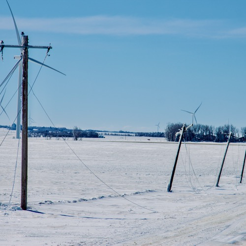 Wind And Solar TKO'd By Ice And Snow