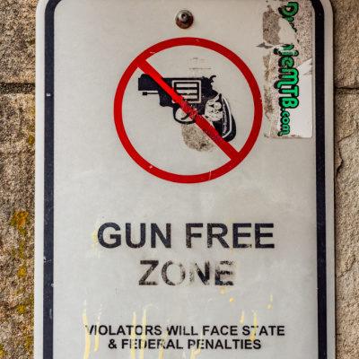 Gun Free Zone - This Is On Biden, Too