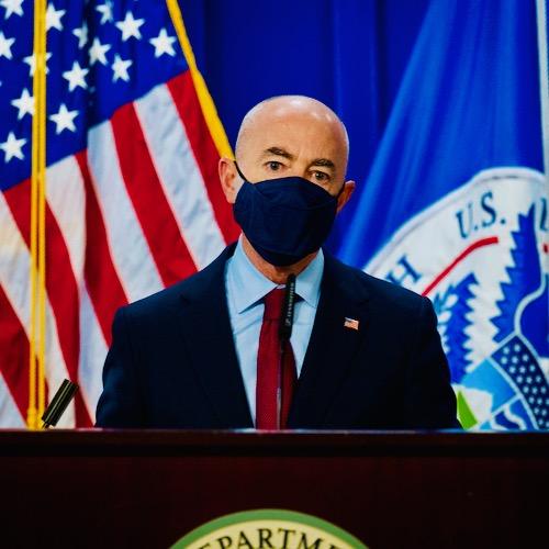 DHS Secretary Mayorkas Blames Trump For Biden's Border Woes