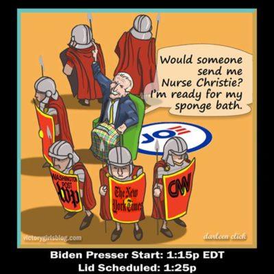 Joe Biden's First Press Conference