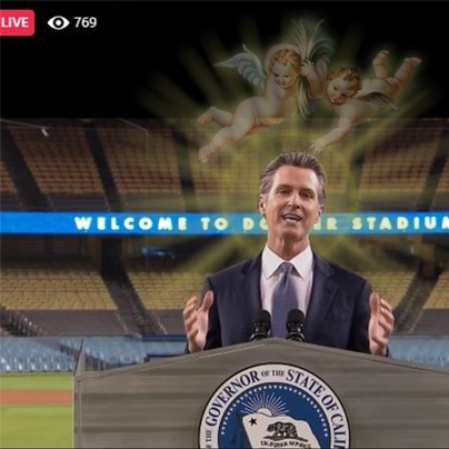 Newsom Starts His Presidential Campaign
