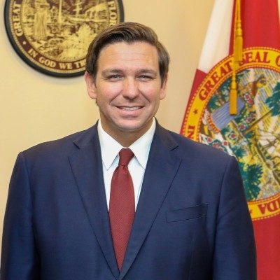 desantis official portrait