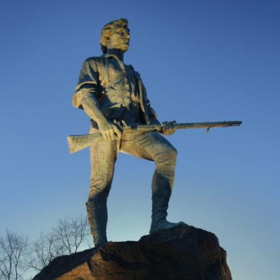 Gun Confiscation 1775 - Lexington And Concord