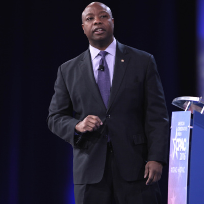 Tim Scott Attacked By Racist Thought Mob Again