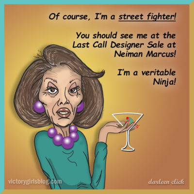 Drunk Pelosi Street Fighter