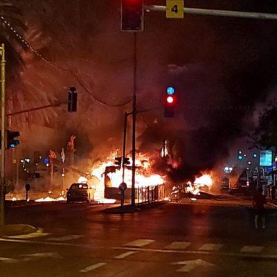 Riots In Lod Israel Resemble U.S. Riots