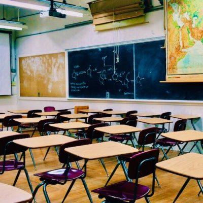american parents classroom school