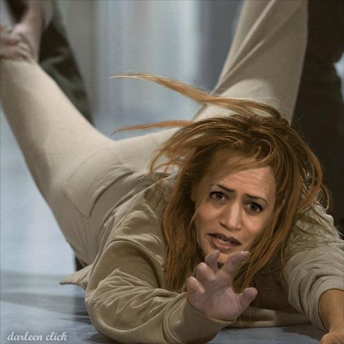 Kamala Harris Won't Go The Extra Mile At Border