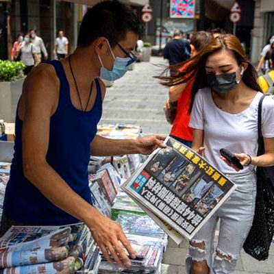 Apple Daily Dead at 26, Killed By Beijing