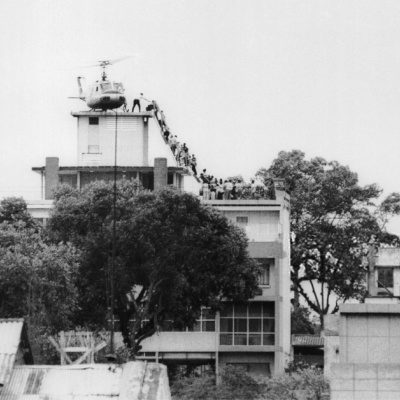 Bagram Airfield Exit Reminiscent Of  Saigon