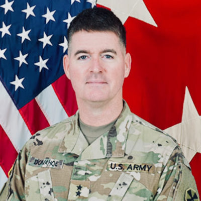 Major General Patrick Donahoe Gets Into Twitter Spat Over Vaccine