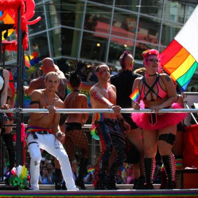 Mom Kink Pride Parade