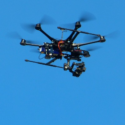 Drone Down, So Fox Reporter Gets A Helicopter Ride