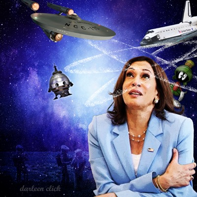 Kamala Is 90% Spacy, The Rest Are Actors