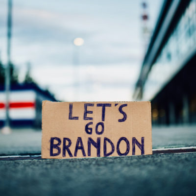 """The Left Whines About Vulgar """"Let's Go Brandon"""" Chants"""