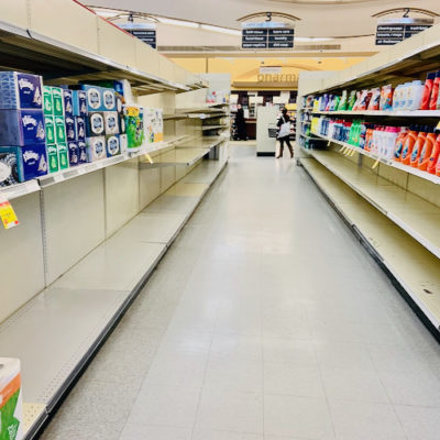 Lower Your Expectations And Ignore Those Empty Grocery Shelves